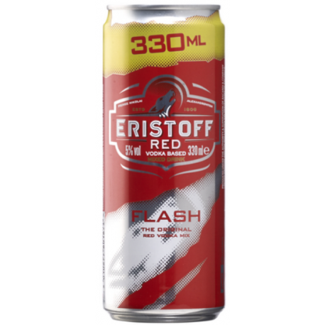 ERISTOFF RED FLASH CANS 12X33CL PROMO