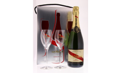 MUMM CORDON ROUGE 75CL + 2 FLUTES
