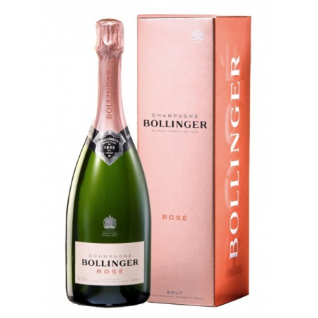 BOLLINGER ROSE BOX 75CL