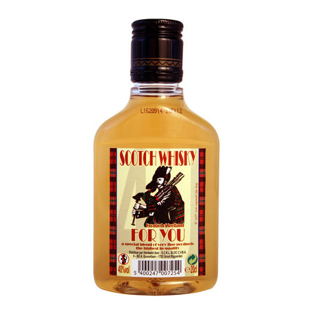 SCOTCH WHISKY FOR YOU 20CL PET